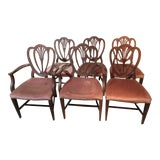 Image of Appleback Dining Chairs - Set of 6 For Sale