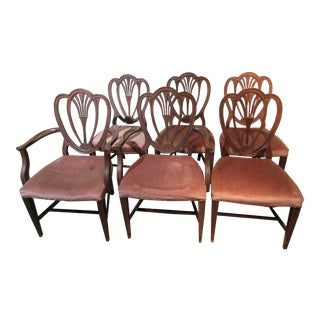 Appleback Dining Chairs - Set of 6 For Sale
