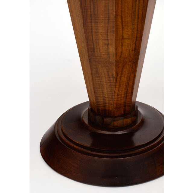 Wood Art Deco Period Walnut Gueridon Table For Sale - Image 7 of 10