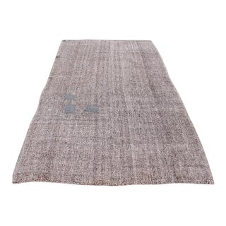 Tribal Turkish Area Rug - 5′4″ × 9′2″ For Sale