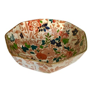 """Royal Cauldon Bowl """"Bittersweet"""" From England For Sale"""