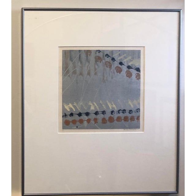 Syd Kramer Monotype Abstract Prints - a Pair For Sale - Image 4 of 11