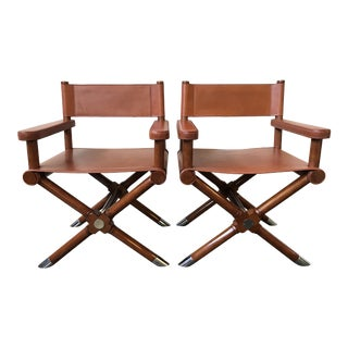 Ralph Lauren Home Modern Hollywood Director's Chairs - a Pair For Sale