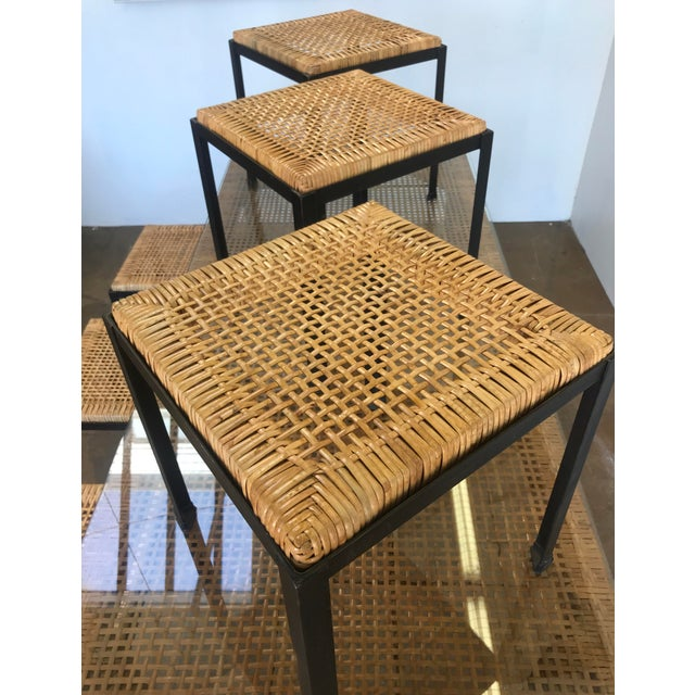 Brown Danny Ho Fong for Tropi-Cal Dining Set For Sale - Image 8 of 11