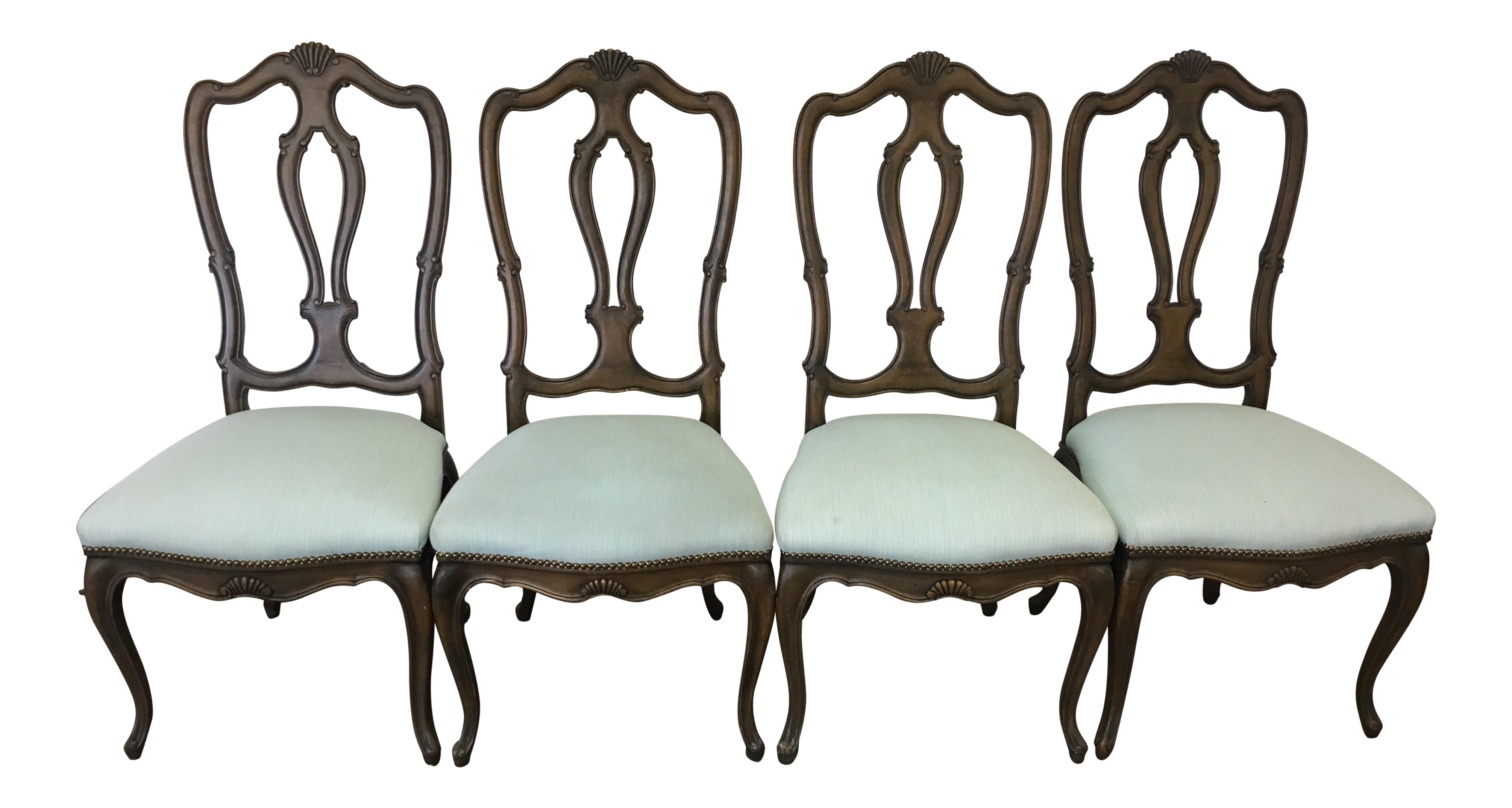 Baker French Provincial Dining Chairs - Set of 4 For Sale  sc 1 st  Chairish & Baker French Provincial Dining Chairs - Set of 4 | Chairish