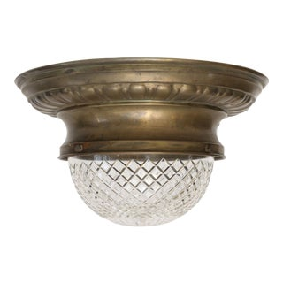 Repousse Flush Mount Light For Sale