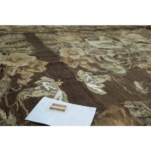 "Vintage Kilim Carpet - 7'8"" X 12'4"" - Image 8 of 8"
