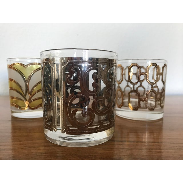 Mid-Century Georges Briard Cocktail Glasses - Set of 8 - Image 4 of 10