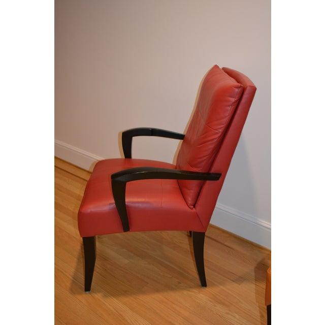 dakota jackson puff chairs dining chairs set of 6 chairish
