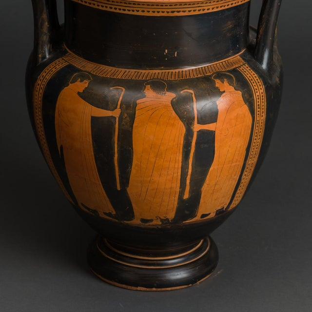 Incredible Attic Red Figured Column Krater Attributed To The Boreas