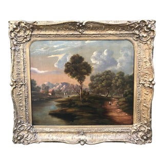 19th Century English Landscape Painting For Sale