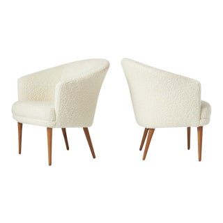 Pair of Chairs by Kerstin Horlin Holmquist for Nordiska Kompaniet, Ca. 1965 For Sale