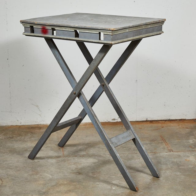Mid 19th Century French Folding Presentation Table For Sale - Image 9 of 9