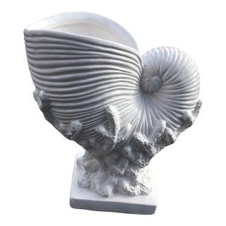 Mid Century Italian Pottery Vase For Sale