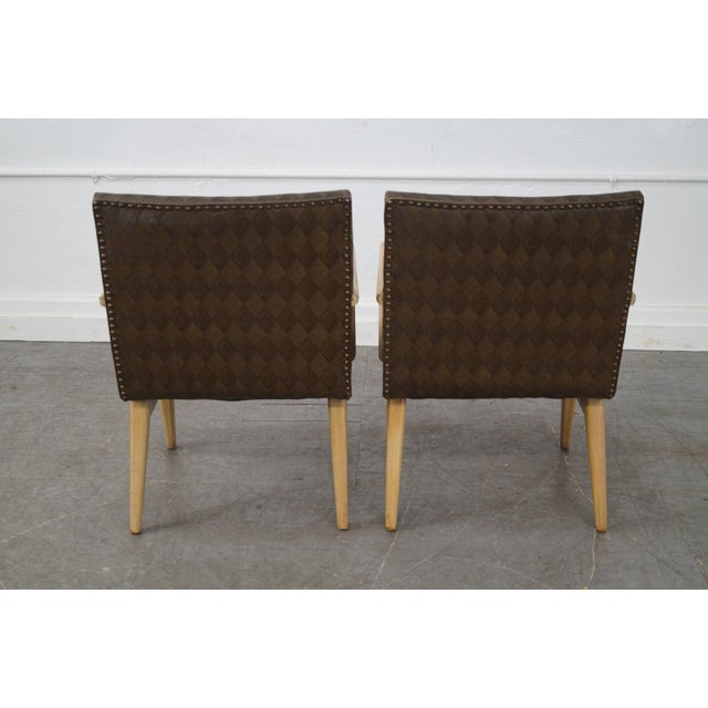 Mid-Century Russel Wright Lounge Chairs - Pair For Sale - Image 5 of 10