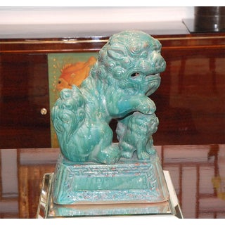 Tony Duquette Ceramic Foo Dog Preview