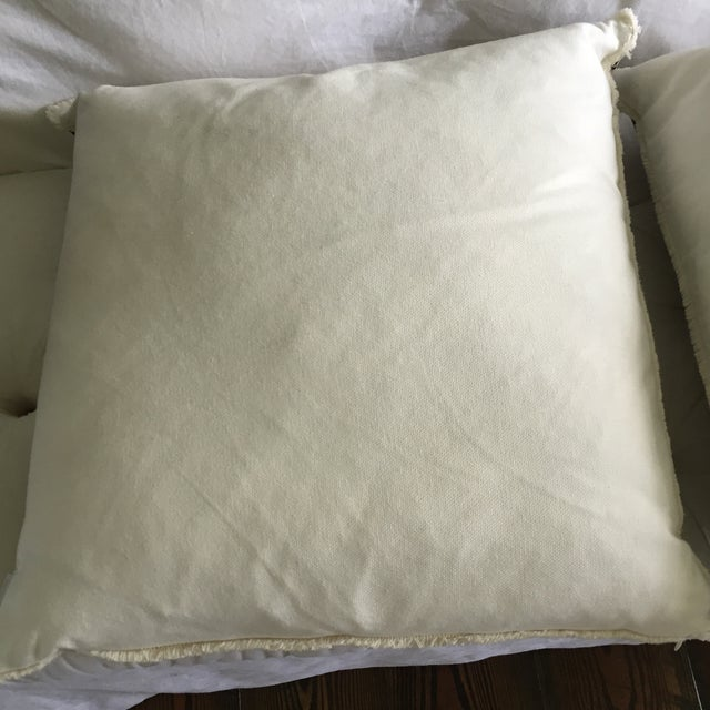 Chocolate Lacefield Designs Pillows- A Pair - Image 6 of 6