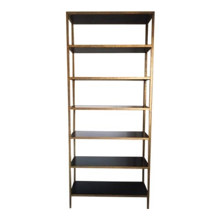 Art Deco Oly Large Stella Shelf Bookcase For Sale