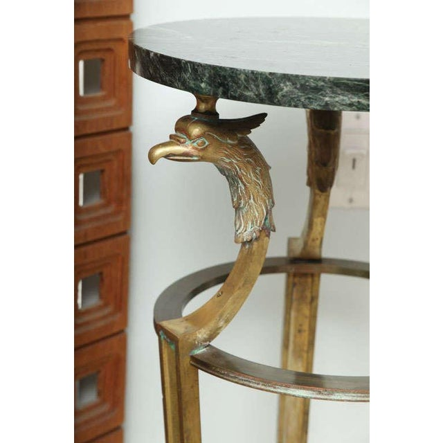 Pair of Maison Jansen Bronze and Marble Pedestals For Sale In Miami - Image 6 of 9