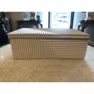 Modern Cream Cement Box Preview
