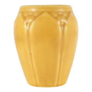 1929 Rookwood Pottery Yellow Artware Vase For Sale