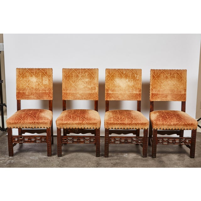20th Century Spanish Renaissance Revival Dining Room Set For Sale - Image 4 of 10