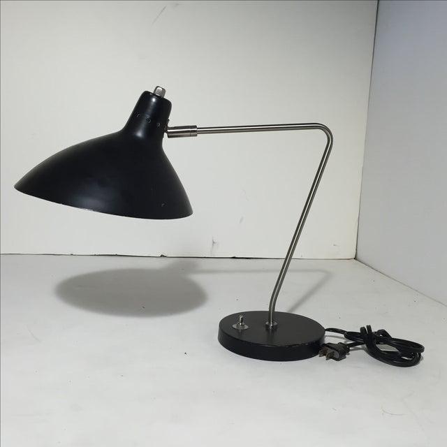 Vintage 1970s Black Desk Lamp - Image 8 of 11