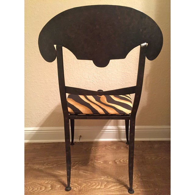 Designer Metal Accent Chair - Image 6 of 11