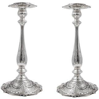 Tall Shreveport & Co Candlesticks For Sale