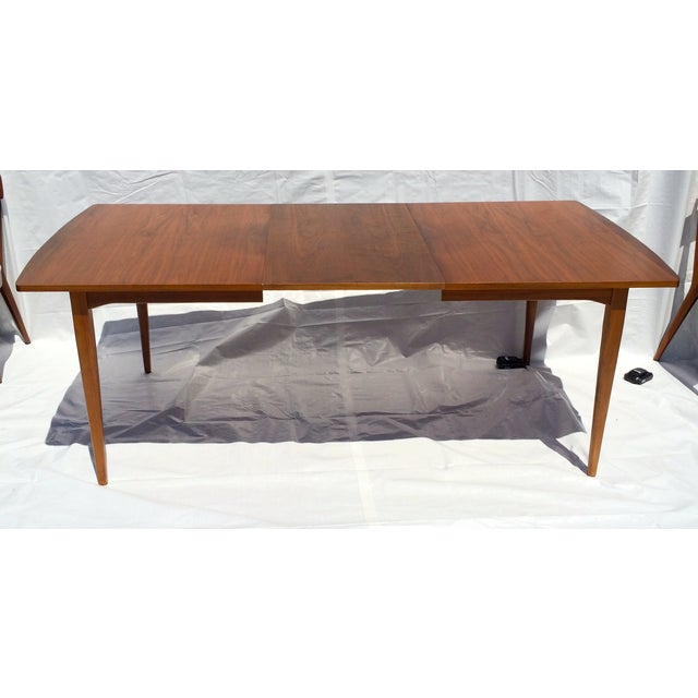 Mid-Century Dining Table by Kipp Stewart For Sale - Image 5 of 7