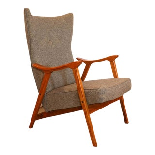 Mid Century Modern Danish Lounge Chair For Sale