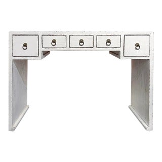 Asian Modern Lady Console Table For Sale