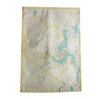 Portland Maine Pull Down Map