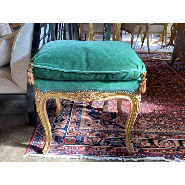 19th Century Louis XVI Tabouret - Ottoman For Sale - Image 4 of 10