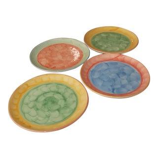 Villeroy and Boch Artist Studio Dessert Plates - Set of 4 For Sale