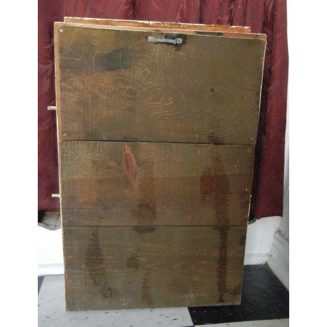 Vintage Crackle Distressed Spice Rack - Image 4 of 5