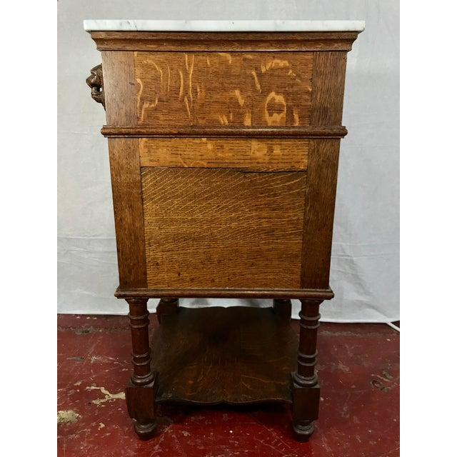 Pair of Oak Belgian 19th Century Side Tables For Sale - Image 11 of 13