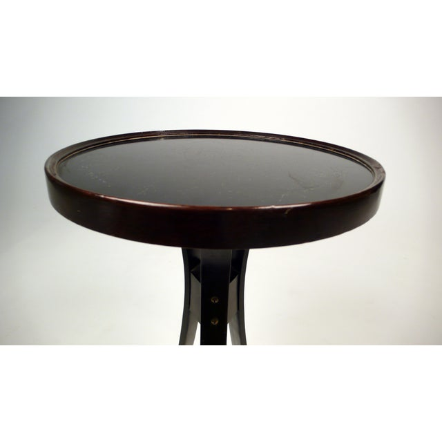 Dunbar Furniture Tripod Drink Table by Edward Wormley for Dunbar For Sale - Image 4 of 9