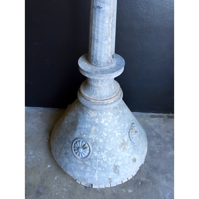 Antique Zinc Finial For Sale - Image 4 of 6
