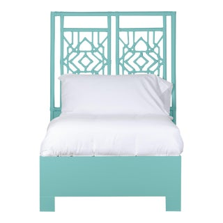 Tulum Bed Twin - Turquoise For Sale