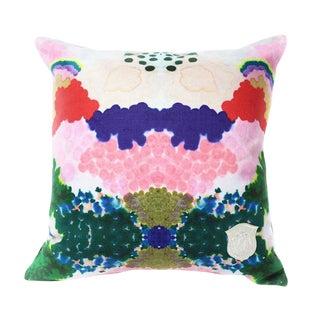 Kristi Kohut World 2 Pillow For Sale