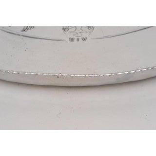 Art Deco 1920-30s Polished Aluminum Tray by Everlast - Earth Air Fire Water Preview