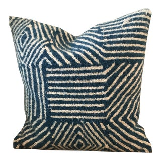 Contemporary Kate Spade Saturday Hooked Carpet Pillow For Sale