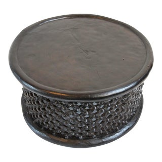 Bamileke Coffee Table / Stool