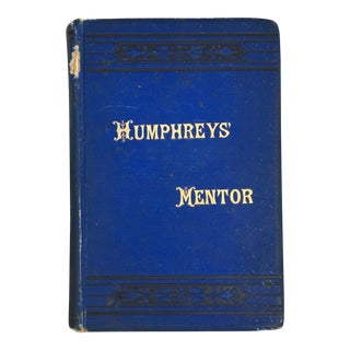 """Humphrey's Homeopathic Mentor"" 1889 Book"