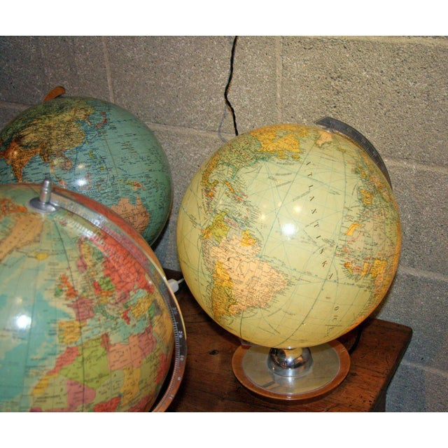 Swedish & German Glass Globes For Sale - Image 4 of 6