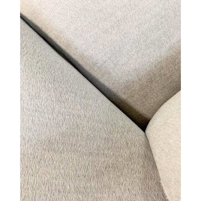 Eero Saarinen Womb Chair in Loro Piana Alpaca Wool For Sale - Image 9 of 13