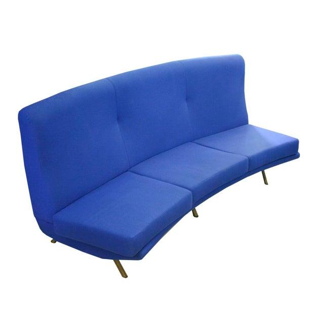 Textile Marco Zanuso Arflex Sofa For Sale - Image 7 of 7