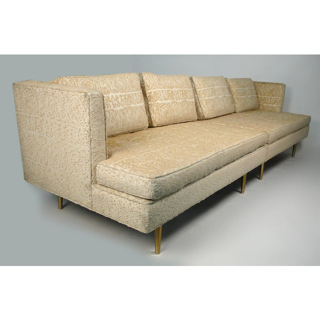 Mid-Century Modern Edward Wormley for Dunbar Even Arm Sofa or Settees For Sale - Image 3 of 8