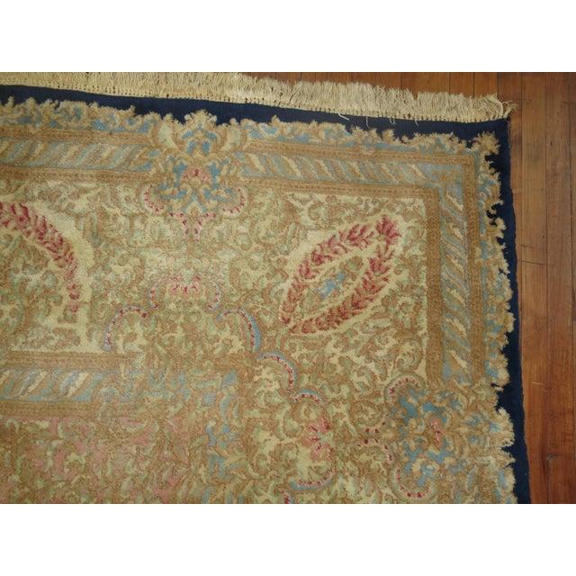 Vintage Persian Kerman Rug - 10'4'' x 13'2'' - Image 6 of 10
